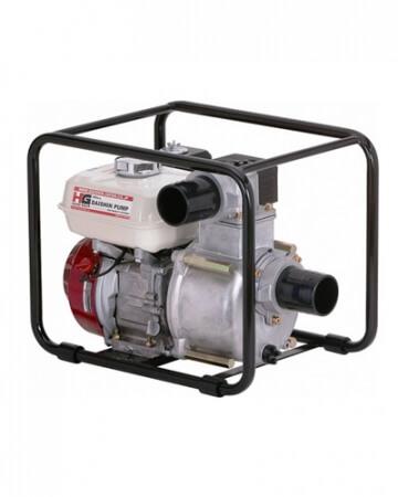 мотопомпа для грязной воды daishin sst-80hx